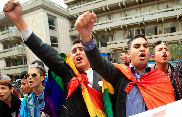 La Corte Constitucional aprobó el matrimonio igualitario en abril de 2016. Foto: EFE