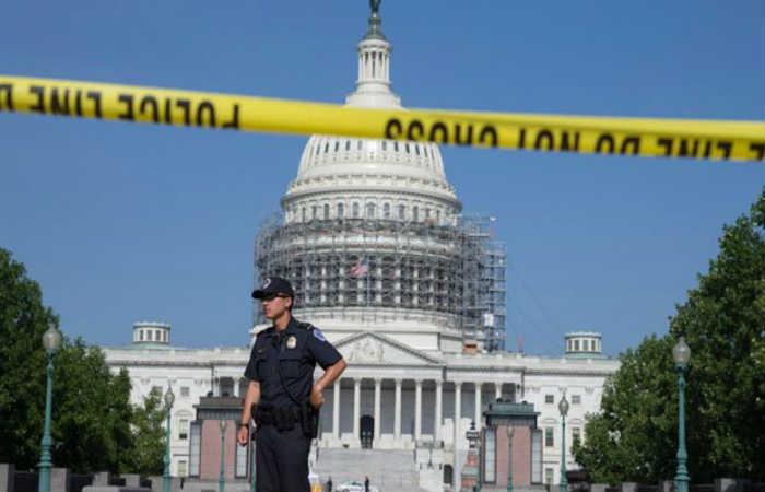 Evacuan Congreso de Estados Unidos