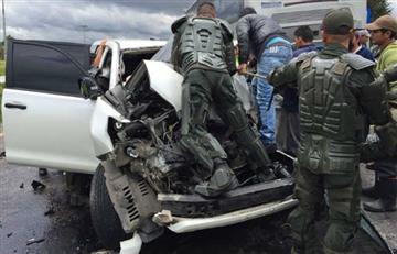 Gobernador de Boyacá sufre accidente