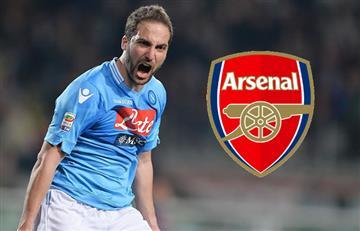 Gonzalo Higuaín podría llegar al Arsenal