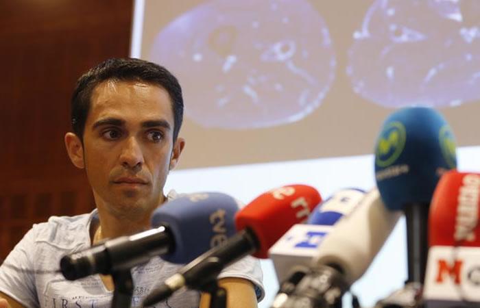El español se retiró del Tour de Francia. Foto: EFE