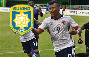 Roger Martínez es nuevo jugador del Jiangsu Suning