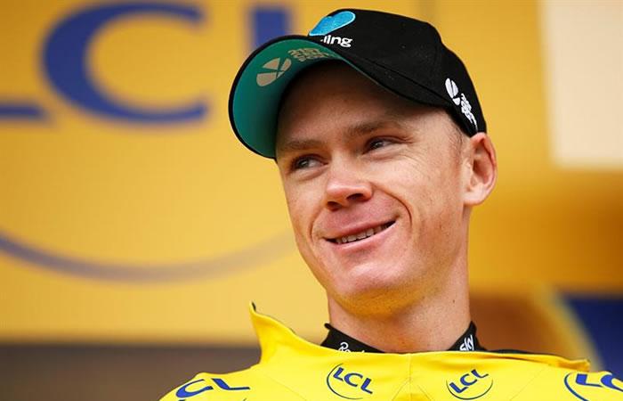 El británico es líder del Tour de Francia. Foto: EFE