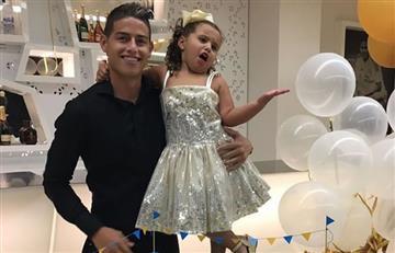 James Rodríguez: así fue la fiesta de cumpleaños del '10'