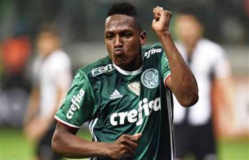VIDEO: Gol, baile y lesión de Yerry Mina en Brasil