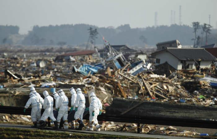 Producto de un terremoto de 9,0 grados y un tsunami, la ciudad japonesa quedó desolada. Foto: EFE