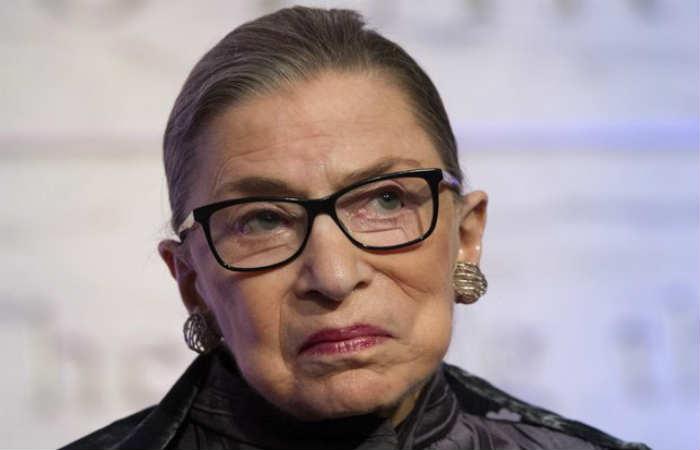 Ginsburg fue nominada para el Supremo por  Bill Clinton, en 1993. Foto: EFE