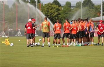 Pokémon Go estuvo en el primer día de Ancelotti en el Bayern Múnich