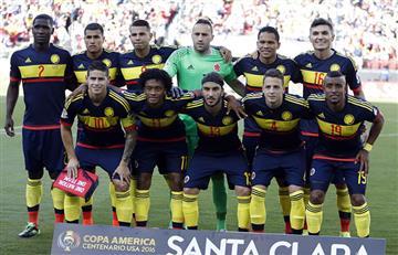 Selección Colombia es la tercera mejor del mundo según FIFA