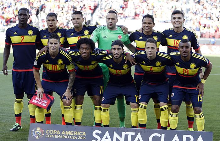 Colombia se mantiene 3ra en el ránking FIFA. Foto: EFE