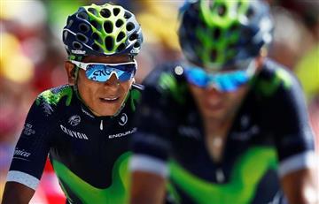 Tour de Francia: Nairo Quintana ahora es tercero