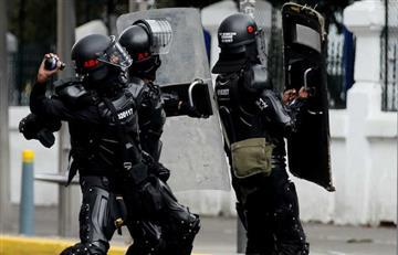 Fiscalía identifica al agente del Esmad que atacó al joven en Duitama
