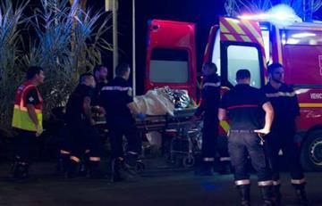 Niza: A 84 se eleva el número de muertos en Francia