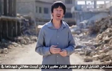 Periodista secuestrado presenta video del Estado Islámico