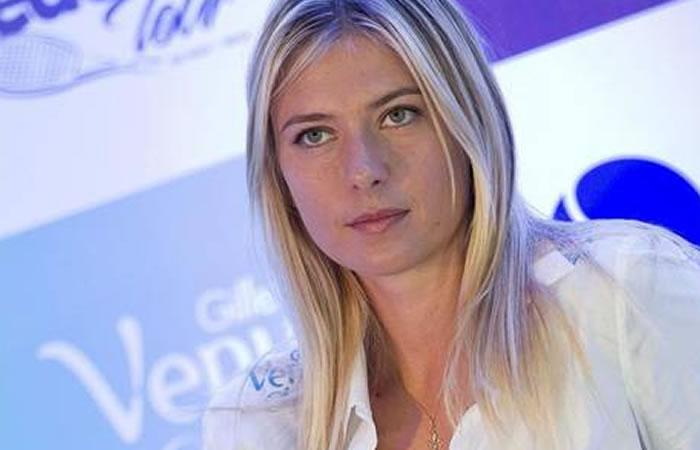 Sharapova agrava su crisis debido a su no participación en Río 2016. Foto: EFE