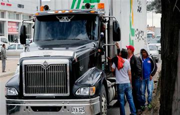 Se identifican a los responsables que atacaron al camión de tomates