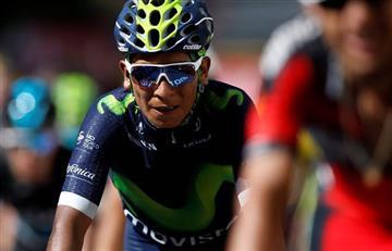 Tour de Francia: Nairo Quintana está a 3 minutos y está 4to