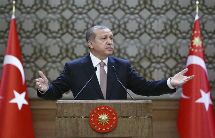 Recep Tayyip Erdogan, presidente turco se encuentra de vacaciones fuera de Turquía. Foto: EFE
