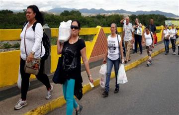 Venezolanos tendrán paso temporal a Colombia este domingo