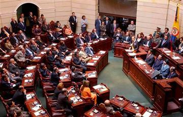 Camioneros se fueron a los golpes en el Congreso de la República