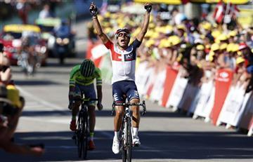 Jarlinson Pantano se llevó la etapa 15 del Tour de Francia