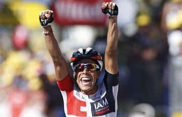 JarlinsonPantano y sus emotivas declaraciones tras ganar la etapa