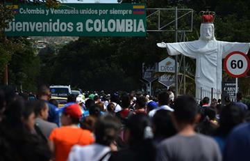 Más de 100.000 venezolanos cruzaron la frontera por víveres