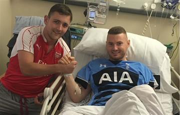 Aficionado del Arsenal donó riñón a uno del Tottenham