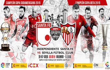 Euroamericana: Santa Fe viaja a Estados Unidos para enfrentar a Sevilla