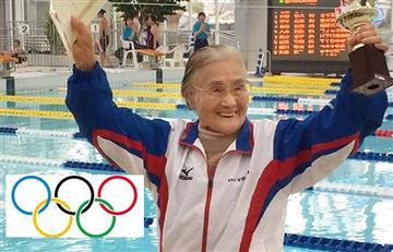 La mujer de 101 años que se prepara para Tokio 2020