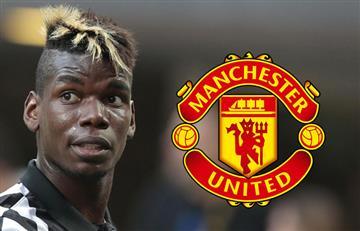 Manchester United: Paul Pogba se presenta a exámen médico