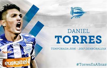 Daniel Torres fue presentado en su nuevo equipo