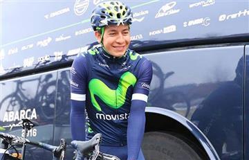 Dáyer Quintana, el mejor colombiano del Tour de Polonia