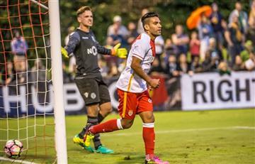 Falcao García volvió a marcar con el Mónaco
