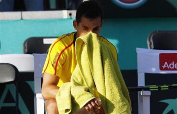 Vendría fuerte multa tras el abandono de Santiago Giraldo