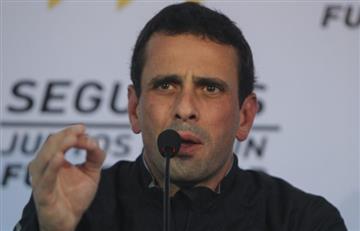 """Capriles: """"Ernesto Samper es aliado de Maduro, no de Venezuela"""""""
