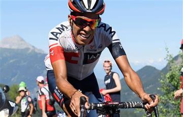 Jarlinson Pantano llega segundo en la etapa 17 del Tour