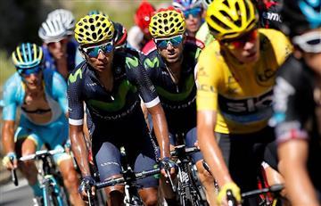 """Tour de Francia: """"Fue un mal día"""" Nairo Quintana"""