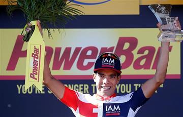Tour de Francia: Jarlinson Pantano recibe la camiseta combativa