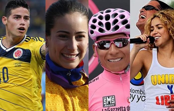 Cinco colombianos por los cuales sacar pecho