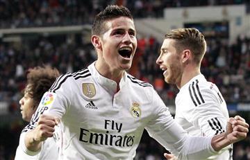 """James Rodríguez: """"Tengo la ilusión de seguir en el Real Madrid"""""""