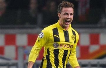 Mario Götze vuelve al Borussia Dortmund