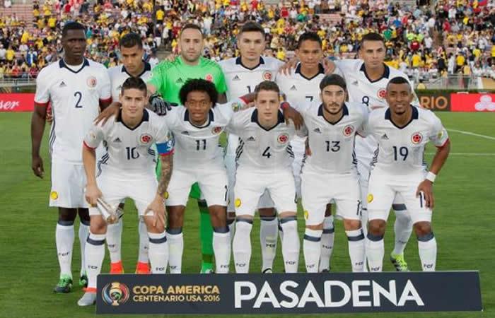 Selección Colombia: Foto:Archivo/EFE