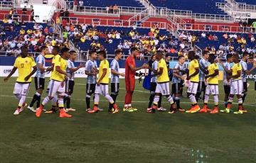 Colombia igualó en EE.UU. con Argentina