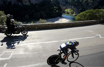 Nairo Quintana es tercero en la general