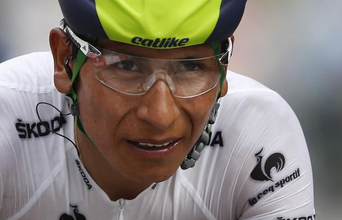 Ciclista colombiano, Nairo Quintana. Foto: EFE