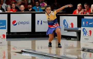 Rocío Restrepo campeona mundial de bolos