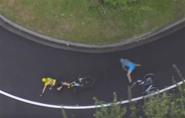 Tour de Francia: Las 6 caídas y el milagro de la etapa 19