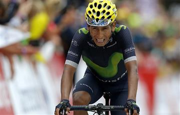 Un Nairo Quintana enfermo pelea por el segundo puesto