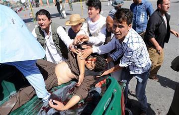 Afganistán: ataque suicida en Kabul deja más de 60 muertos